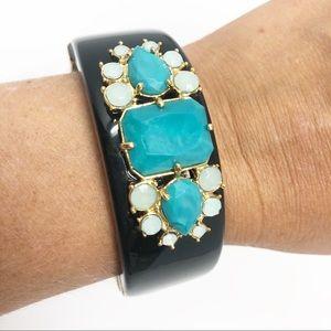 Kate Spade Chunky Turquoise Jewel Bracelet